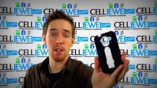 CellJewel.com - ZTE Avid 4G Black Skin/White Kick Stand Hybrid Case