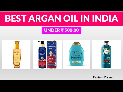 Best Moroccan Argan Oil in India with Price.