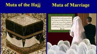 (1) Muta Temporary Marriage (1/9) Muta is in the Quran- Definitions & Background information