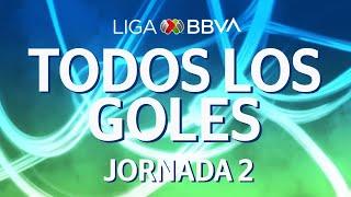 Todos los Goles | Jornada 2 - CL 2020 | Liga BBVA MX
