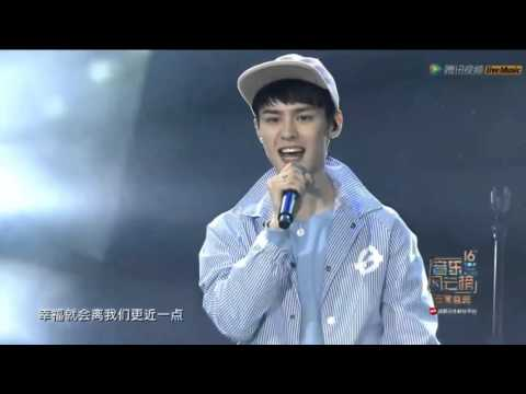 NCT U Without You + The 7th Sense Live @ 16th Top chinese music 1080p