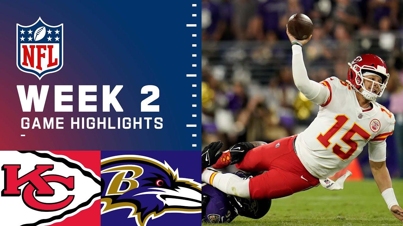 Download Chiefs vs. Ravens Week 2 Highlights | NFL 2021