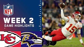 Chiefs vs. Ravens Week 2 Highlights | NFL 2021