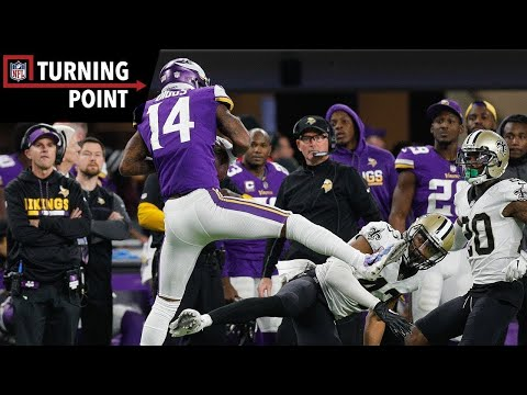 Keenum to Diggs Provides the 'Miracle in Minneapolis' (NFC Divisional Round) | NFL Turning Point