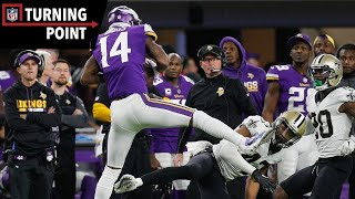 "Keenum to Diggs Provides the ""Miracle in Minneapolis"" (NFC Divisional Round) 