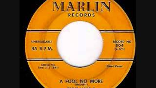 Eddie Hope And The Mannish Boys  -  A Fool No More