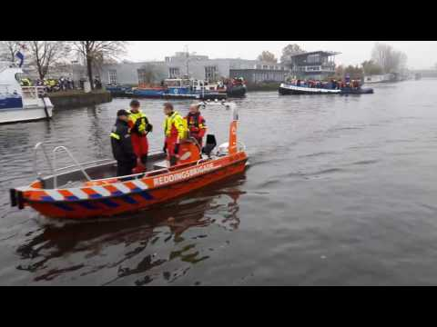 Waternet assisteert bij Sinterklaas intocht  Amsterdam (2016)