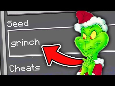 Minecraft : Finding THE GRINCH On The Grinch SEED!  (Ps3/Xbox360/PS4/XboxOne/WiiU)