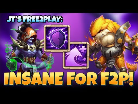 JT's F2P Occultist And Ripper BEAST! New Talents Castle Clash