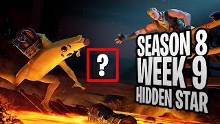 WEEK 9 SECRET STAR SEASON 8 LOCATION! - Fortnite Find the Secret Star in Loading Screen W9