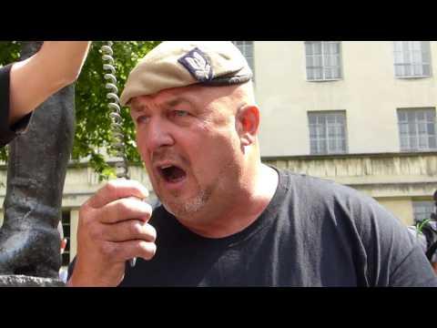 Phil Campion Speech (Former SAS) Veterans Against Terrorism, London 05/08/17 #Standuptoterror