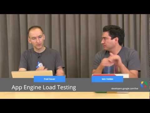 App Engine Load Testing and Performance Tips