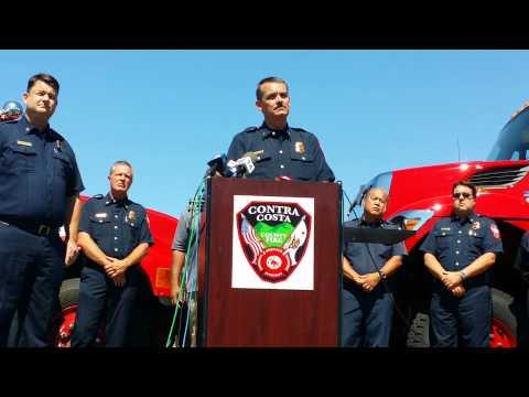 Concord: ConFire arson suspect presser