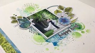 Scrapbooking Process: Choosing a Color Combo Tutorial (Scrapbook Nerd)