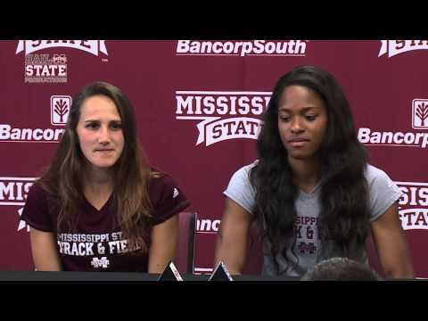 Erica Bougard and Rhianwedd Price Speak to the Media - 5/12/15