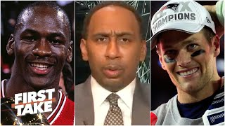 Which dynasty is more impressive: MJ's Bulls or Tom Brady's Patriots? | First Take
