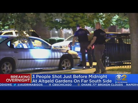 48 People Shot Over The Weekend; 9 Killed