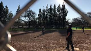 Sophia Ortiz #52 home run  in Sacramento