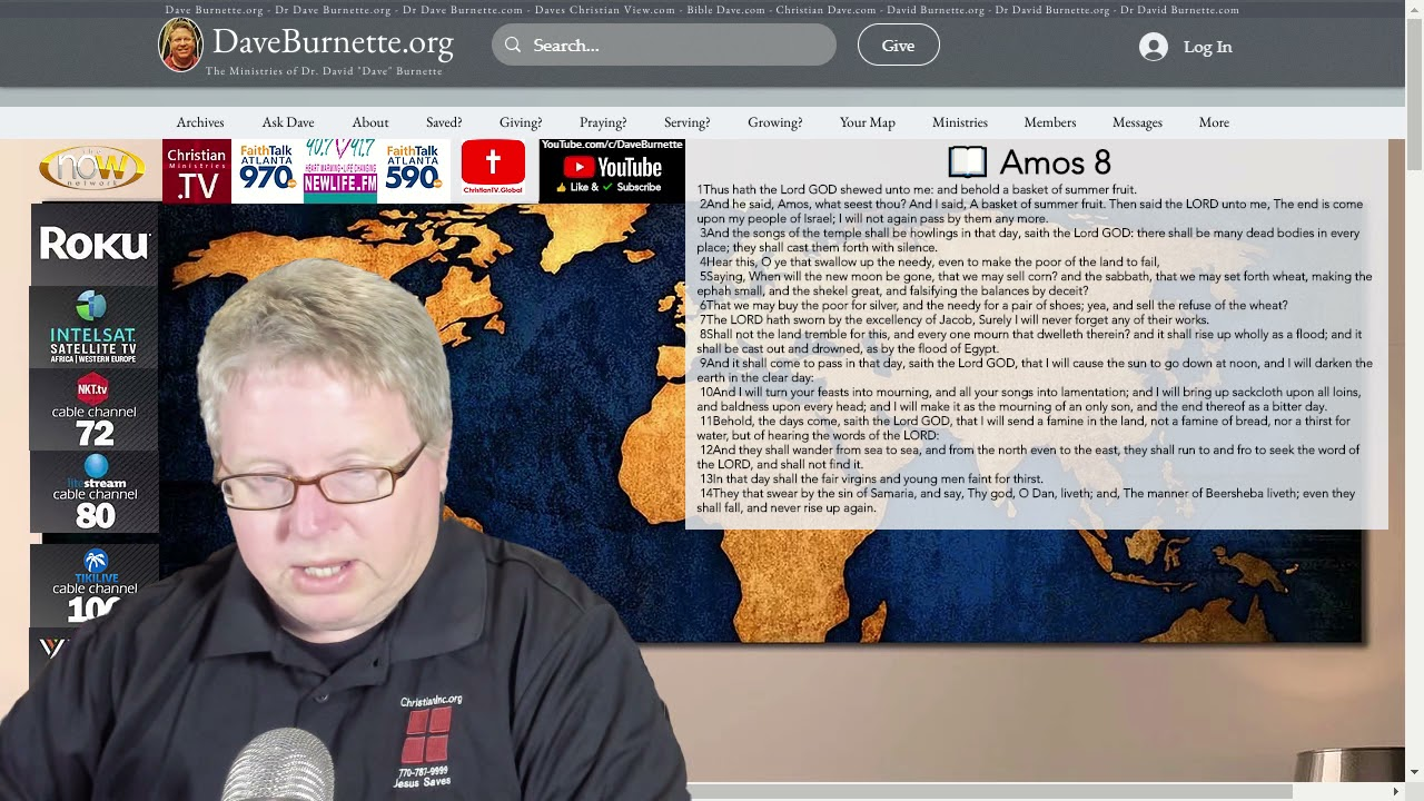 Amos 8 ✒️ Answers in the Bible