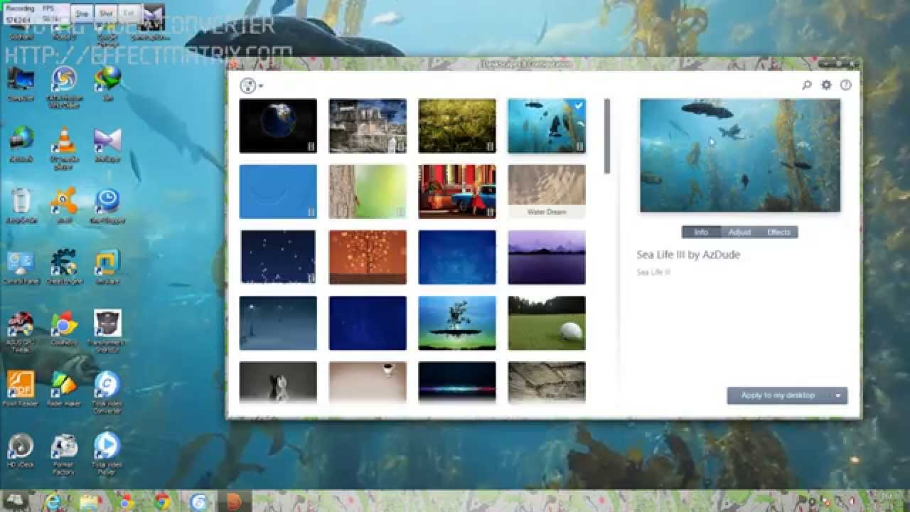 windows 10 official preview 2015 and live wallpaper on windows - YouTube
