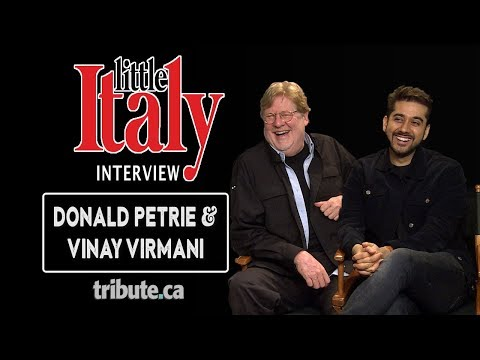 Donald Petrie & Vinay Virmani - Little Italy Interview Mp3