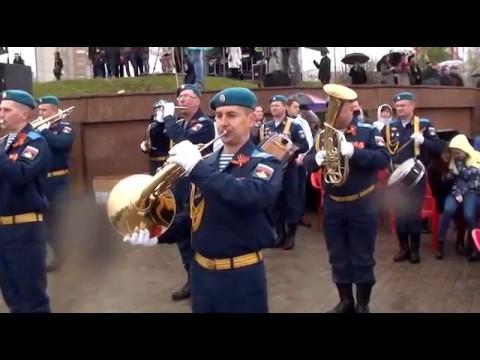 Парад 9 мая 2017 года в Иванове в честь 72 й годовщины Великой Победы