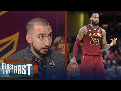 Nick Wright is convinced LeBron will end career as NBA all-time leading scorer | FIRST THINGS FIRST