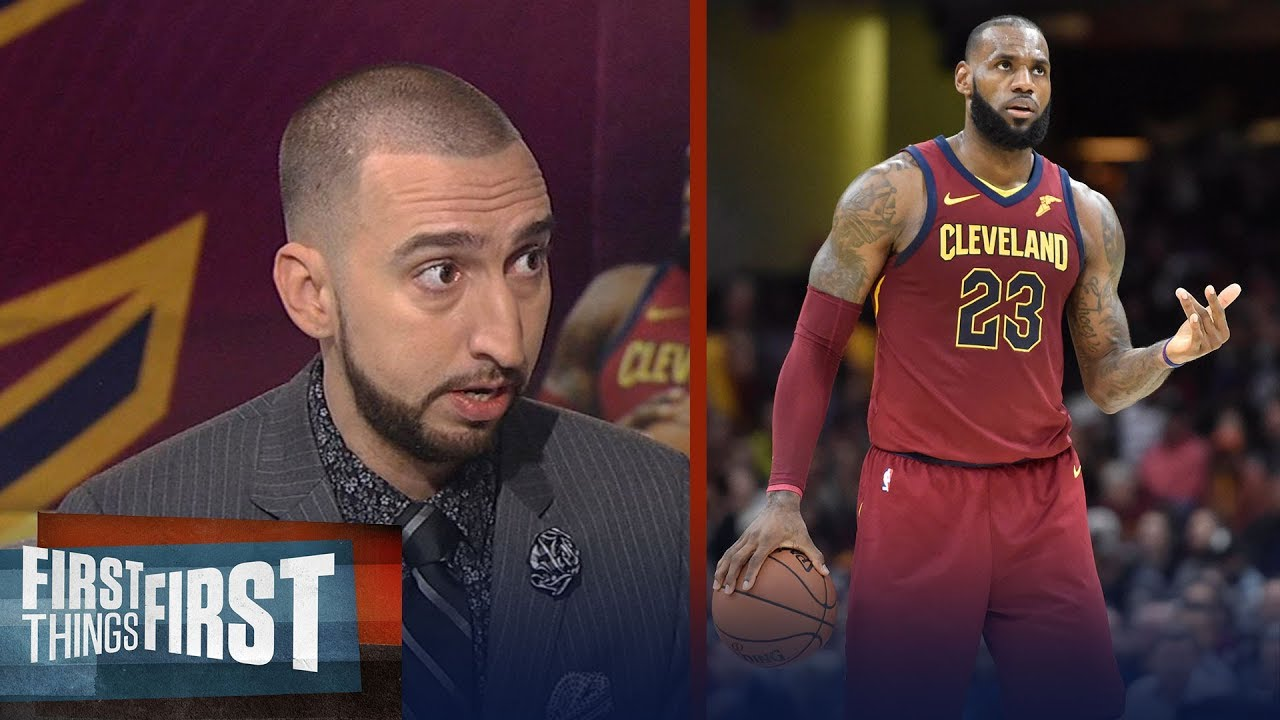 1dbffe32f3cd Nick Wright is convinced LeBron will end career as NBA all-time leading  scorer