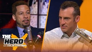 Rockets are 'no threat' in the West, talks 76ers & Durant — Chris Broussard | NBA | THE HERD