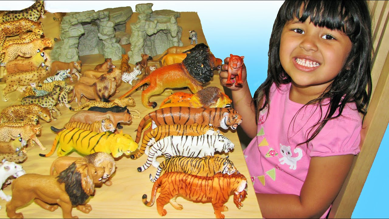 Big Cats My Entire Collection Schleich Safari Kids Toys