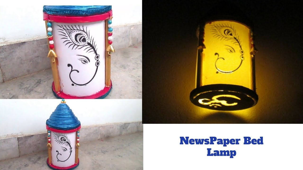 Easy ganesh mandap lantern hand made best out of for Best out of waste easy