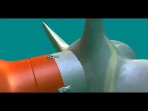 AEGIR-Marine: Underwater installment of a net cutter