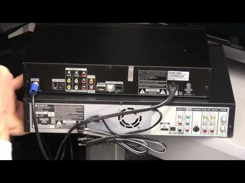 Direct TV Installation  How to Hook a VCR Up to DirecTV - YouTube