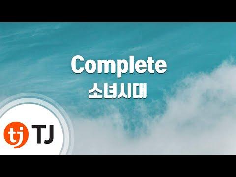 Complete_Girls' Generation SNSD 소녀시대_TJ Karaoke (lyrics/Korean reading sound)