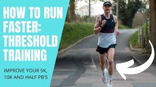 HOW TO RUN FAŠTER 5K, 10K AND HALF MARATHONS (THRESHOLD TRAINING)