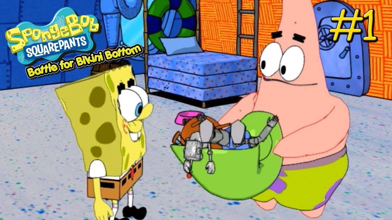 spongebob squarepants battle for bikini bottom pc