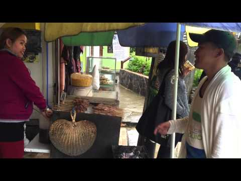 Street food in Baguio City (Mines View Park)