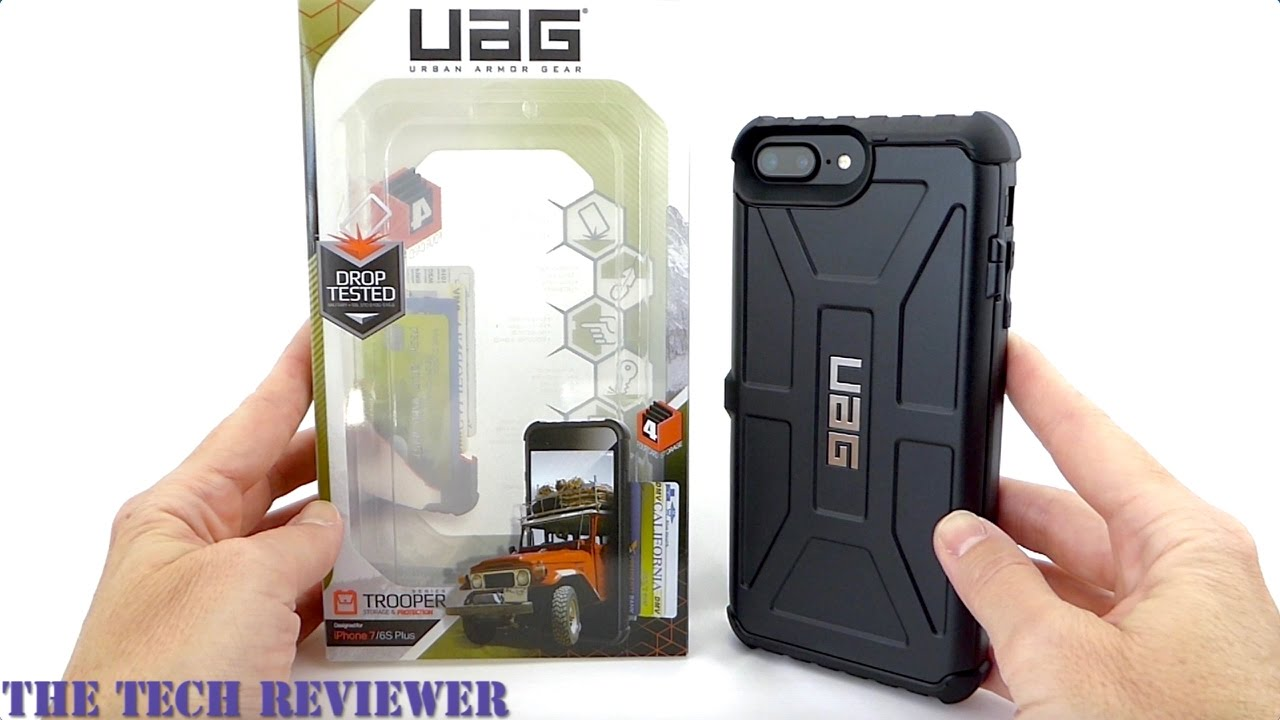 new style a7bee 4403a UAG Trooper: A Super Secure Card Case with Mil-Spec Protection for the  iPhone 7 Plus!