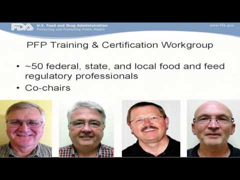 Partnership for Food Protection (PFP) Training & Certification Workgroup with Will Bet-Sayad