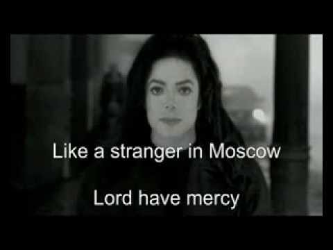 (KARAOKE) Michael Jackson - Stranger In Moscow (instrumental+background)