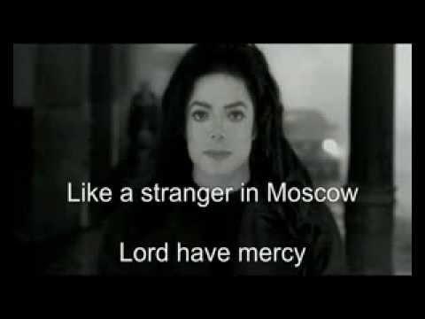 (KARAOKE) Michael Jackson - Stranger In Moscow (instrumental+background)