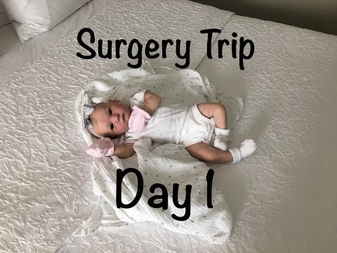 Surgery Trip With Reborn Baby Avalina! Day 1! What's Wrong With The Car?