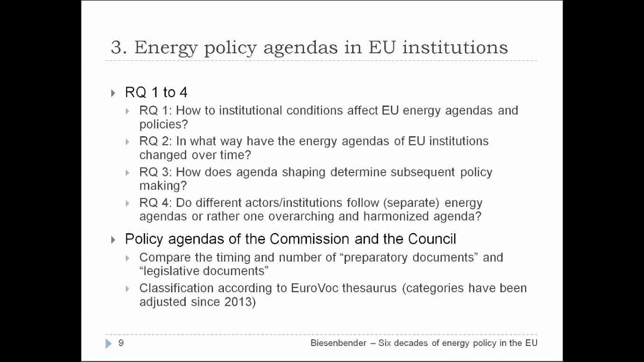 Download Six decades of energy policy in the EU