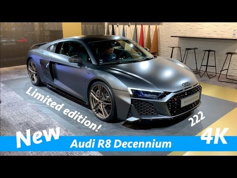 Audi R8 Decennium 2020 - FIRST exclusive look in 4K | Only 222 models limited edition!