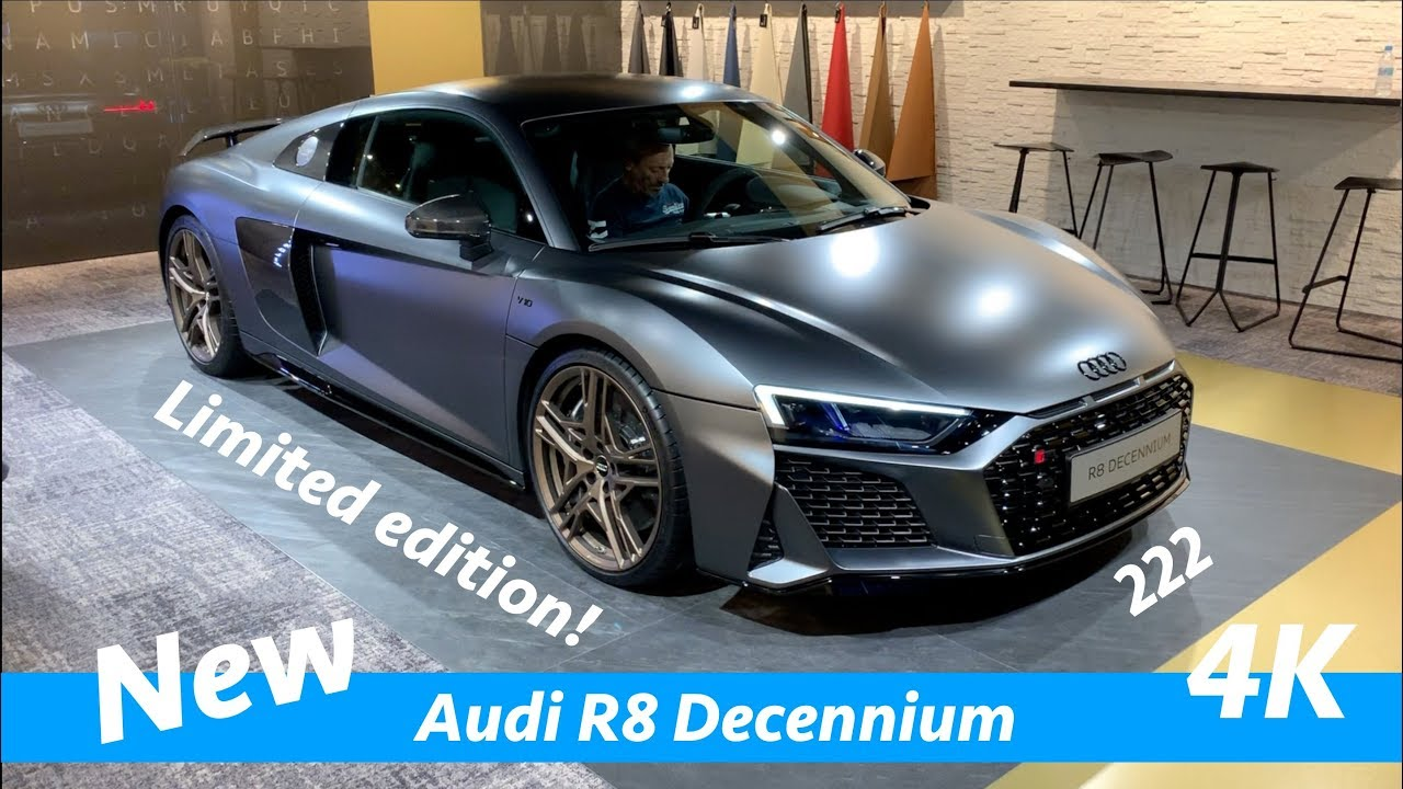 Audi R8 Decennium 2020 First Exclusive Look In 4k Only 222 Models Limited Edition