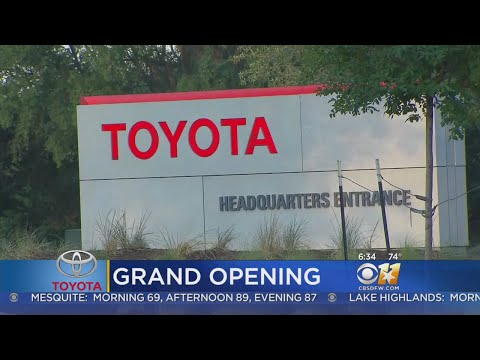 Grand Opening At New Toyota Headquarters In Plano