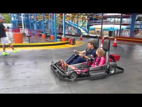 Pro track go karts in Pigeon Forge, TN