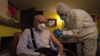 I vaccini arrivano a domicilio: ecco la prova generale avvenuta a Demonte