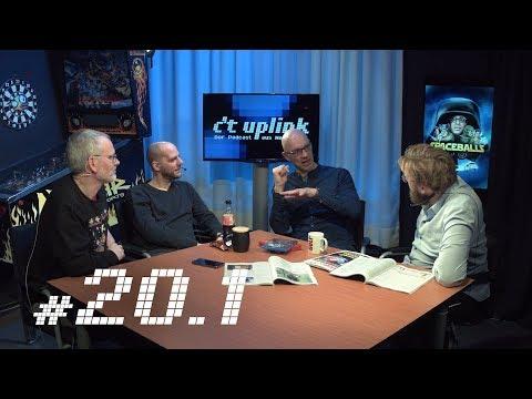 c't uplink 20.1: Apple CarPlay vs. Android Auto, das Galileo-Satellitenlabor und 3D-Sound