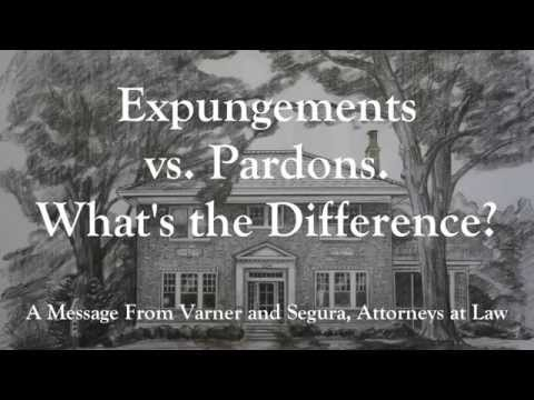 Expungements Vs. Pardons. What's The Difference?